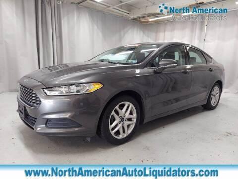2016 Ford Fusion for sale at North American Auto Liquidators in Essington PA