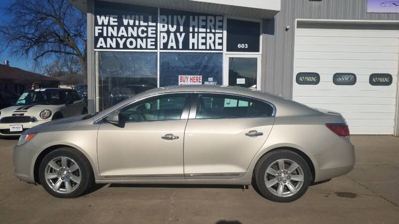 2012 Buick LaCrosse for sale at STERLING MOTORS in Watertown SD