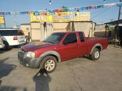 2001 Nissan Frontier for sale at DEL CORONADO MOTORS in Phoenix AZ