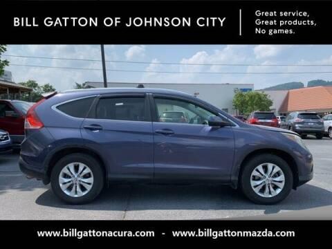 2012 Honda CR-V for sale at Bill Gatton Used Cars - BILL GATTON ACURA MAZDA in Johnson City TN