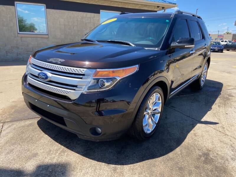 2013 Ford Explorer for sale at Auto House of Bloomington in Bloomington IL