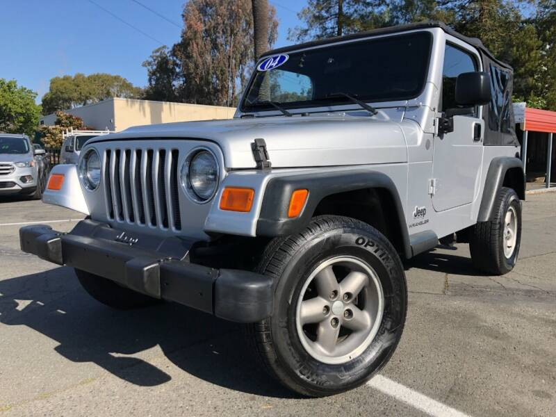 2004 Jeep Wrangler for sale at Martinez Truck and Auto Sales in Martinez CA