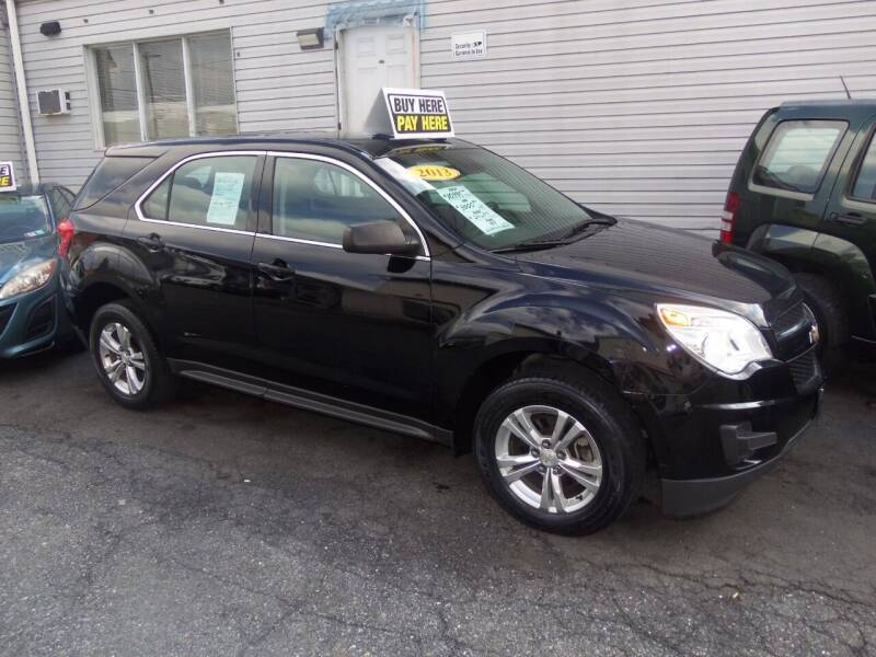 2013 Chevrolet Equinox for sale at Fulmer Auto Cycle Sales - Fulmer Auto Sales in Easton PA
