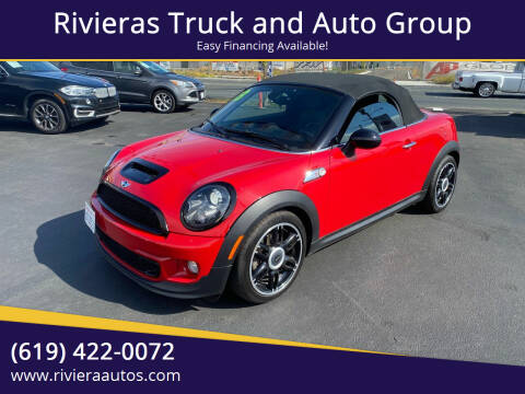 2013 MINI Roadster for sale at Rivieras Truck and Auto Group in Chula Vista CA