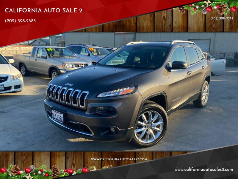 2014 Jeep Cherokee for sale at CALIFORNIA AUTO SALE 2 in Livingston CA
