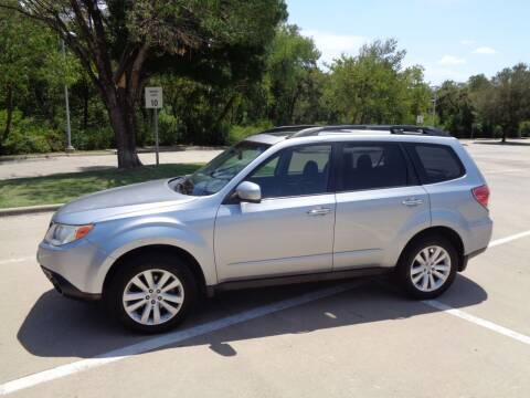 2013 Subaru Forester for sale at ACH AutoHaus in Dallas TX