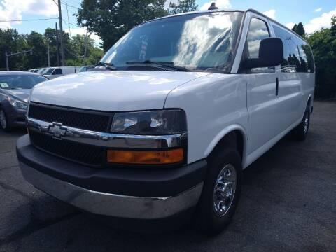 2017 Chevrolet Express Passenger for sale at P J McCafferty Inc in Langhorne PA