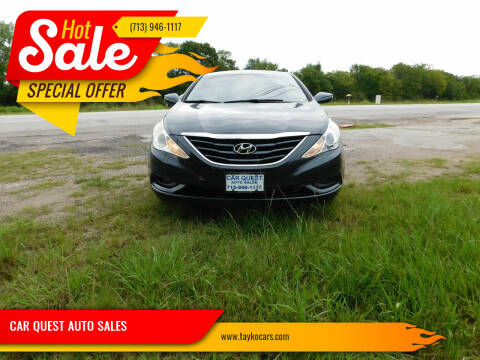 2012 Hyundai Sonata for sale at CAR QUEST AUTO SALES in Houston TX