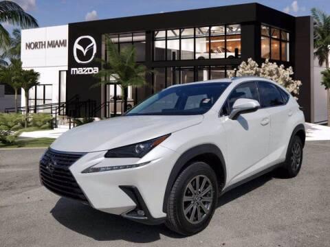 2019 Lexus NX 300 for sale at Mazda of North Miami in Miami FL