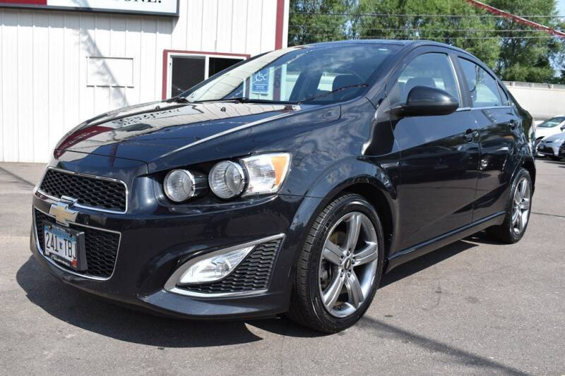 2014 Chevrolet Sonic for sale at Dealswithwheels in Inver Grove Heights MN