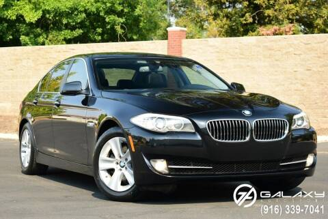 2012 BMW 5 Series for sale at Galaxy Autosport in Sacramento CA