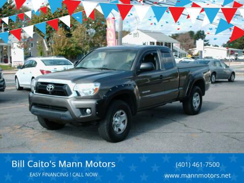 2015 Toyota Tacoma for sale at Bill Caito's Mann Motors in Warwick RI