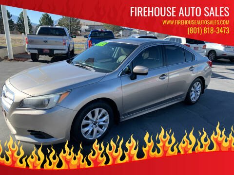 2015 Subaru Legacy for sale at Firehouse Auto Sales in Springville UT