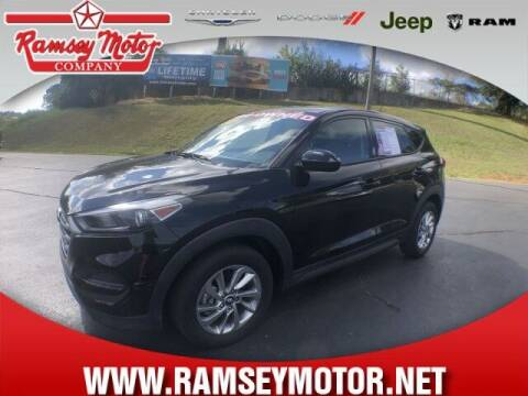 2017 Hyundai Tucson for sale at RAMSEY MOTOR CO in Harrison AR