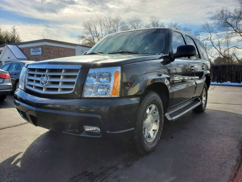 2002 Cadillac Escalade for sale at Broadway Motor Sales and Auto Brokers in North Chelmsford MA