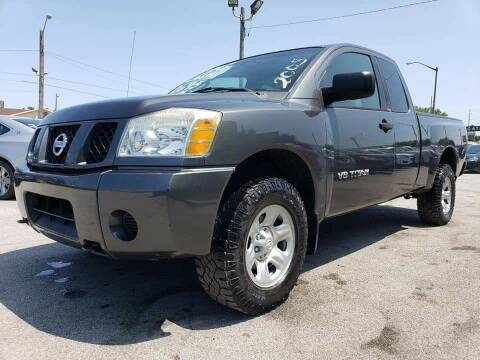 2005 Nissan Titan for sale at Empire Auto Group in Indianapolis IN
