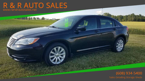 2013 Chrysler 200 for sale at R & R AUTO SALES in Juda WI