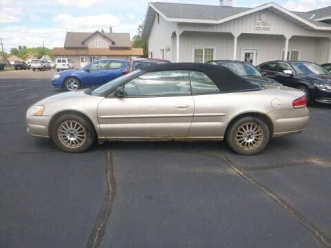 2005 Chrysler Sebring for sale at JIM WOESTE AUTO SALES & SVC in Long Prairie MN