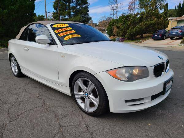 2011 BMW 1 Series for sale at CAR CITY SALES in La Crescenta CA