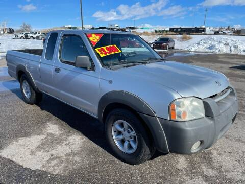 2001 Nissan Frontier for sale at Top Line Auto Sales in Idaho Falls ID