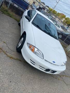 2000 Chevrolet Cavalier for sale at Bob Luongo's Auto Sales in Fall River MA