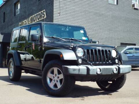 2015 Jeep Wrangler Unlimited for sale at Carena Motors in Twinsburg OH