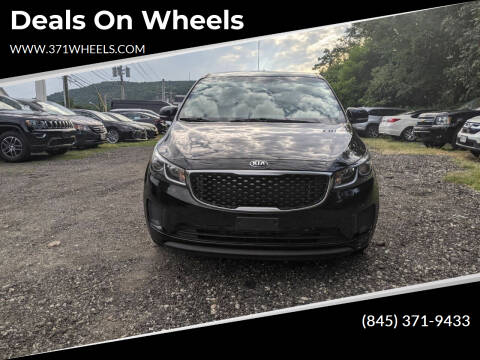 2018 Kia Sedona for sale at Deals on Wheels in Suffern NY