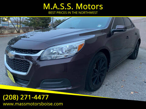 2015 Chevrolet Malibu for sale at M.A.S.S. Motors in Boise ID