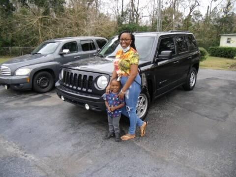 2015 Jeep Patriot for sale at HOGSTEN AUTO WHOLESALE in Ocala FL
