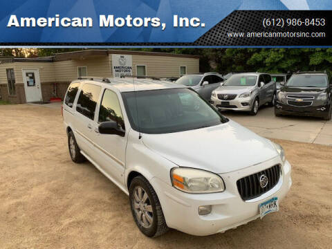 2007 Buick Terraza for sale at American Motors, Inc. in Farmington MN