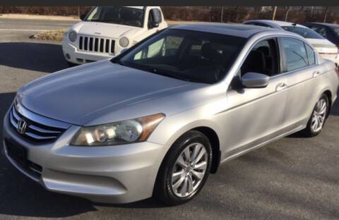 2012 Honda Accord for sale at XCELERATION AUTO SALES in Chester VA