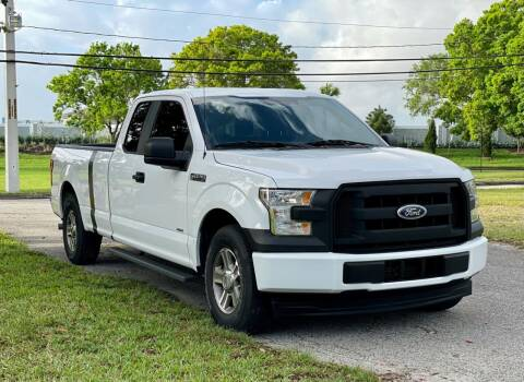 2017 Ford F-150 for sale at Sunshine Auto Sales in Oakland Park FL