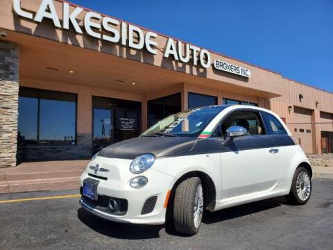 2018 FIAT 500 for sale at Lakeside Auto Brokers Inc. in Colorado Springs CO