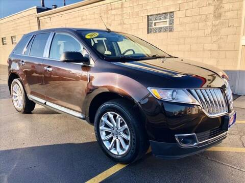 2013 Lincoln MKX for sale at Richardson Sales & Service in Highland IN