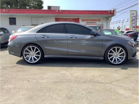 2018 Mercedes-Benz CLA for sale at Dealers Choice Inc in Farmersville CA