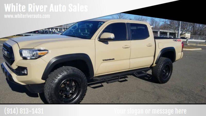 2016 Toyota Tacoma for sale at White River Auto Sales in New Rochelle NY