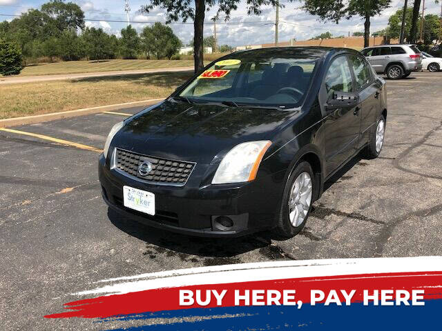 2007 Nissan Sentra for sale at Stryker Auto Sales in South Elgin IL