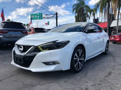 2017 Nissan Maxima for sale at Gtr Motors in Fort Lauderdale FL