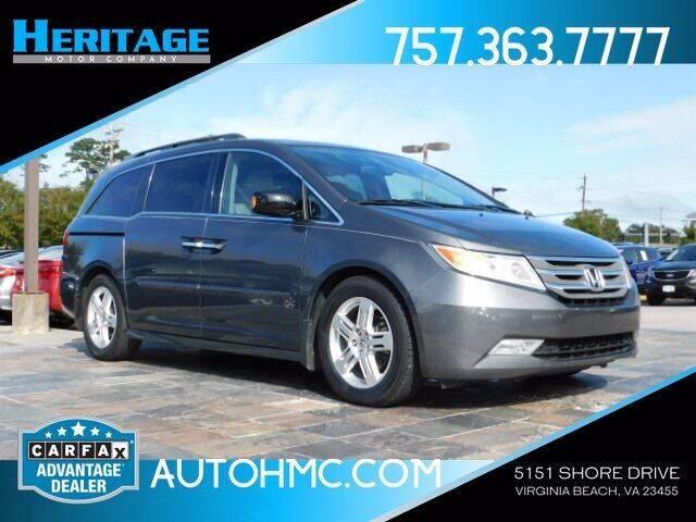 2013 Honda Odyssey for sale at Heritage Motor Company in Virginia Beach VA