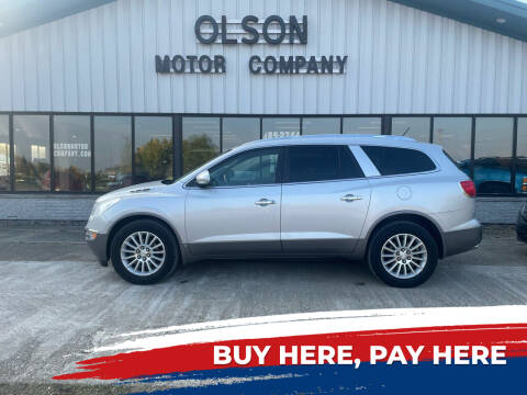 2009 Buick Enclave for sale at Olson Motor Company in Morris MN