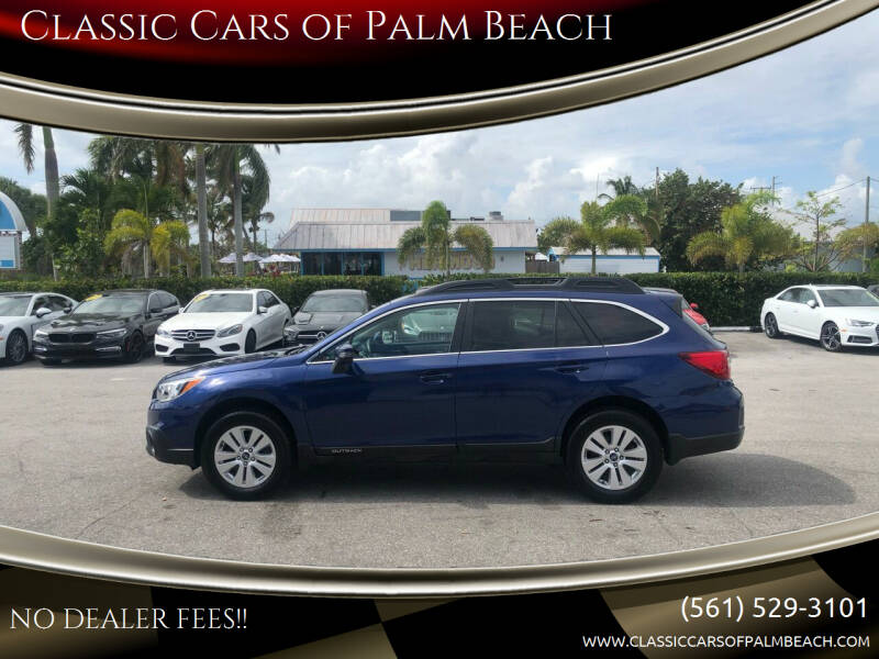 2015 Subaru Outback for sale at Classic Cars of Palm Beach in Jupiter FL