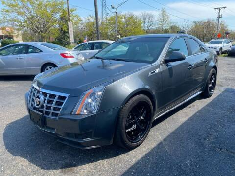 2012 Cadillac CTS for sale at Union Avenue Auto Sales in Hazlet NJ