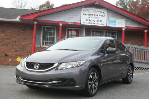 2015 Honda Civic for sale at Peach State Motors Inc in Acworth GA