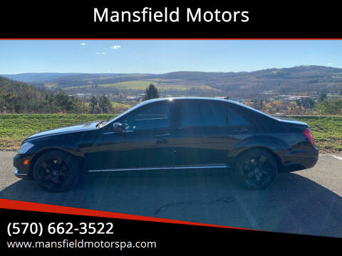 2013 Mercedes-Benz S-Class for sale at Mansfield Motors in Mansfield PA
