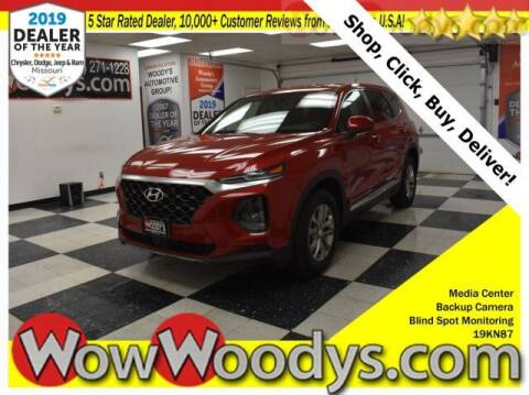 2019 Hyundai Santa Fe for sale at WOODY'S AUTOMOTIVE GROUP in Chillicothe MO