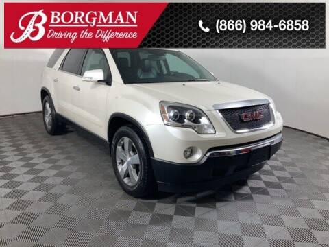 2012 GMC Acadia for sale at BORGMAN OF HOLLAND LLC in Holland MI