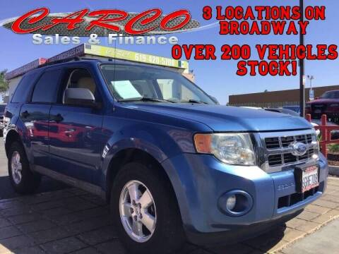 2009 Ford Escape for sale at CARCO SALES & FINANCE #3 in Chula Vista CA