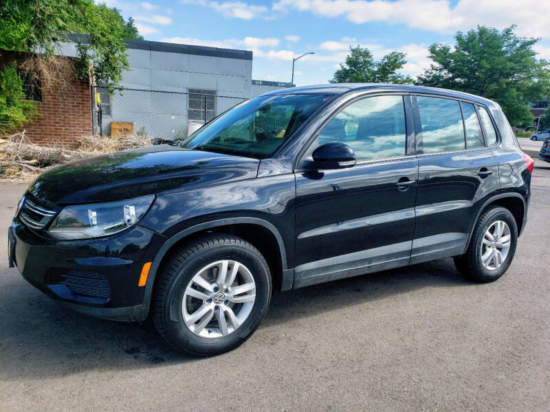 2013 Volkswagen Tiguan for sale at J & M PRECISION AUTOMOTIVE, INC in Fort Collins CO