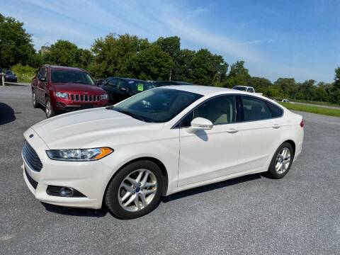 2015 Ford Fusion for sale at Riverside Motors in Glenfield NY