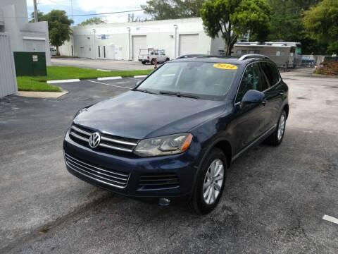 2012 Volkswagen Touareg for sale at Best Price Car Dealer in Hallandale Beach FL